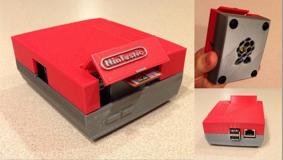 NinTastic_-_Nintendo_Style_Case_for_the_Raspberry_Pi_by_tastic007_-_Thingiverse
