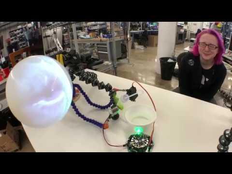 CircuitPlayground CRICKIT Bubbles