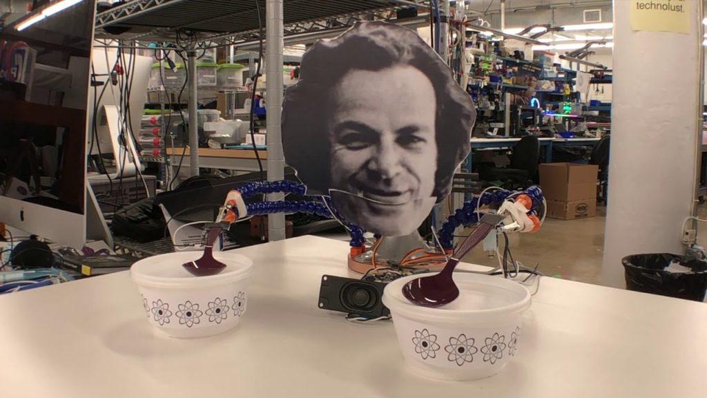 CircuitPlayground CRICKIT Feynman Bot