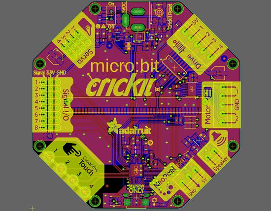 CRICKIT micro:bit LEEK