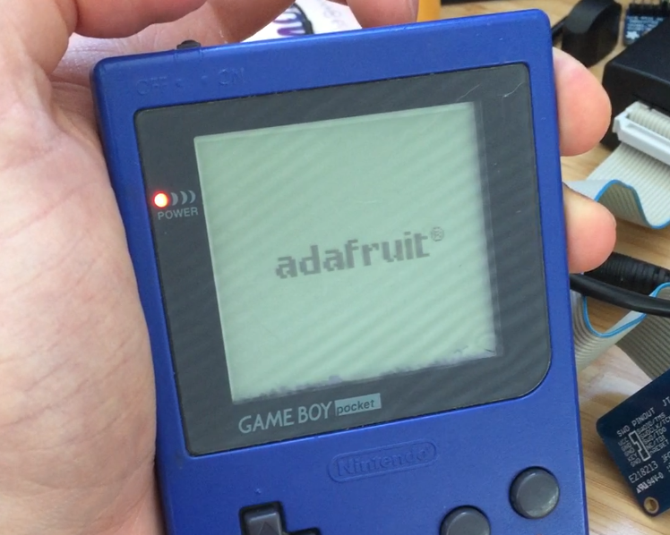 Adafruit Gameboy Logo