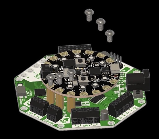 CRICKIT assembly video