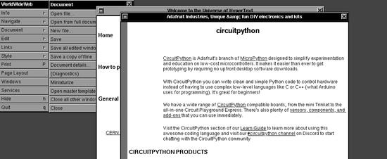 Python on hardware, a portal to a world of fun! #Python