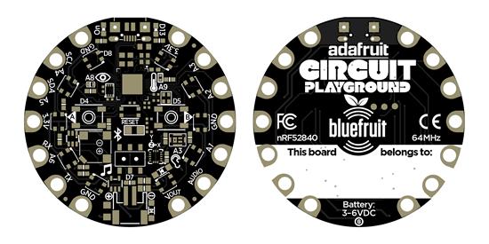 CircuitPlayground Express Bluefruit