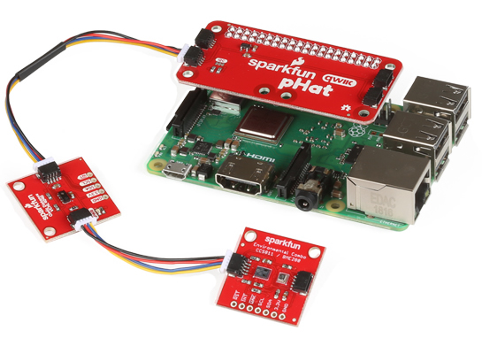 Python for SparkFun's Qwiic Connect System