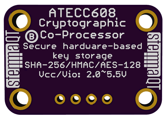 stemmaQT cryptographic co-processor