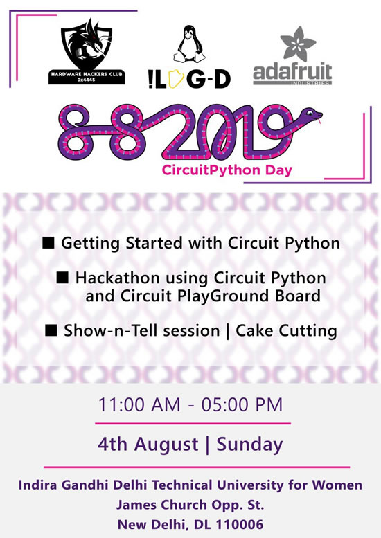 ICYMI: CircuitPython Day is here! Celebrating the community together