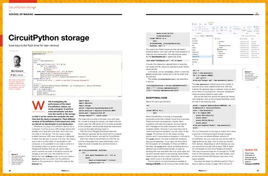 CircuitPython storage