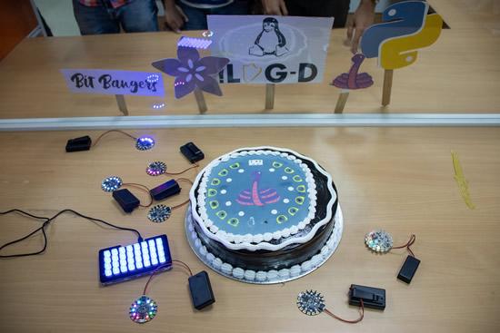 CircuitPythonDay 2019 - Cake