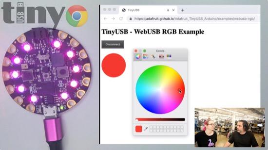 WebUSB demo!