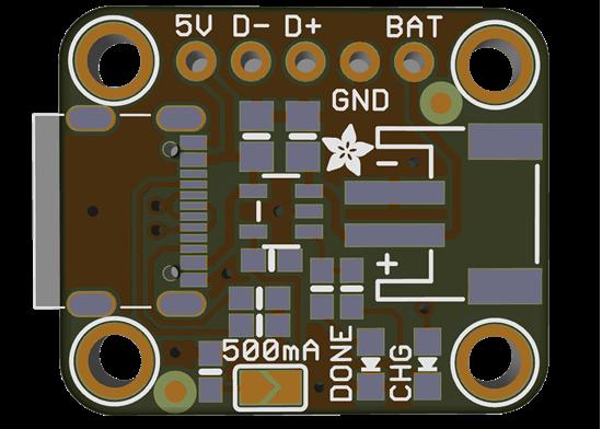 Micro lipo USB C charger