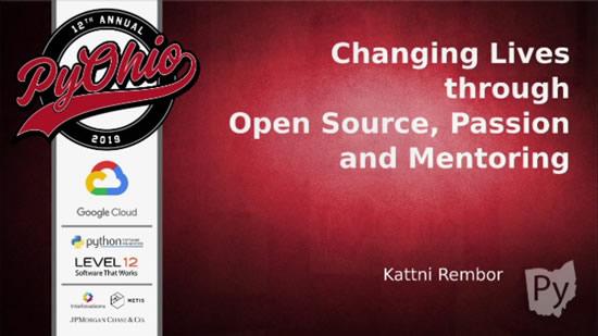 Kattni PyOhio keynote video