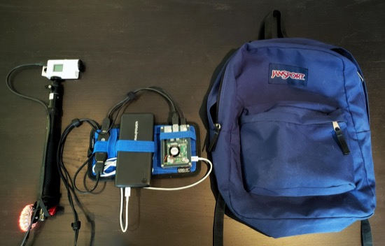 Streaming backpack