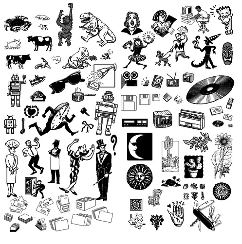 HyperCard graphics pack