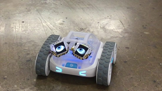 Adafruit eyes on a Sphero RVR