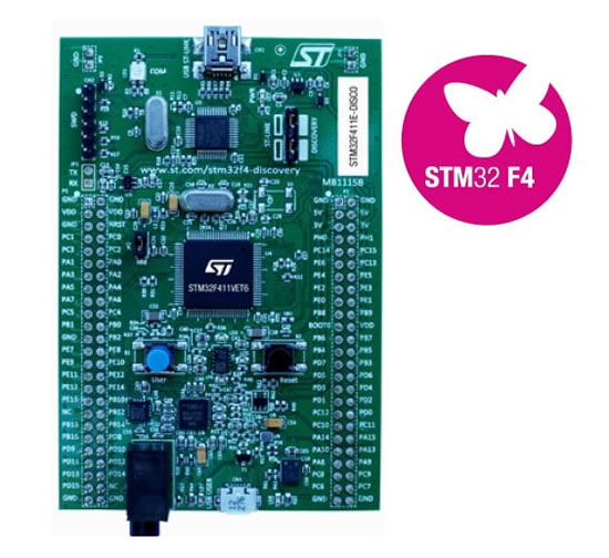 Discovery kit for STM32F411