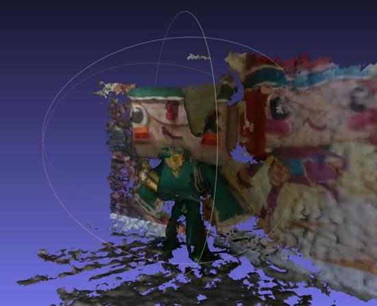 Raspberry Pi Handheld 3D Scanner
