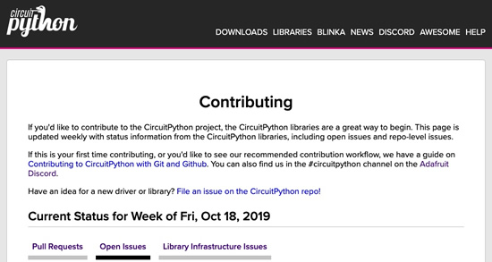 CircuitPython Libraries