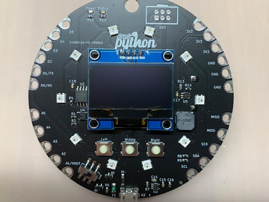 CircuitPython badge