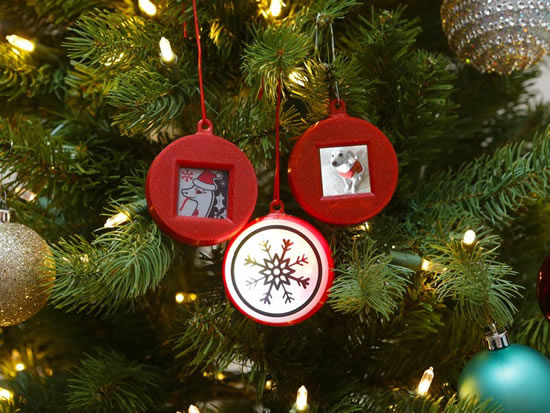 Circuit Playground Gizmo Ornaments