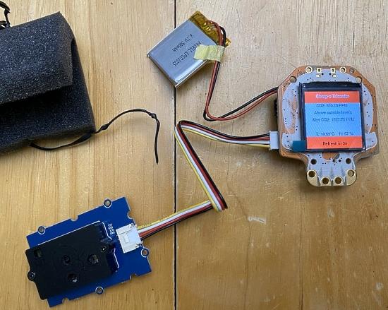 CircuitPython CO2 Sensor