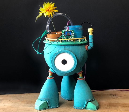 Chauncey the Flower Care Bot