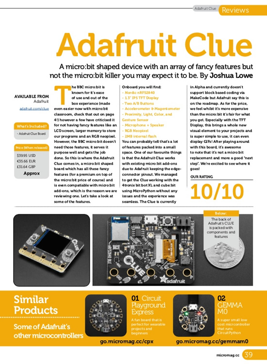 microbit mag