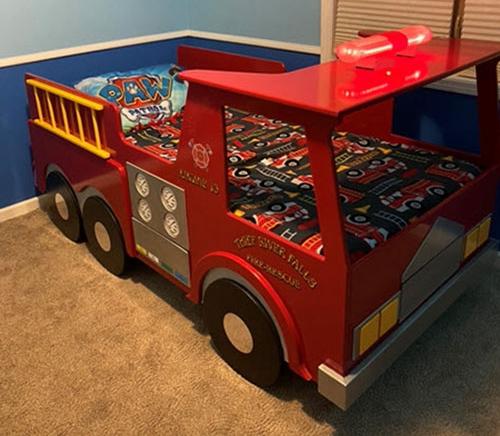 Firetruck Using a Circuit Playground Express