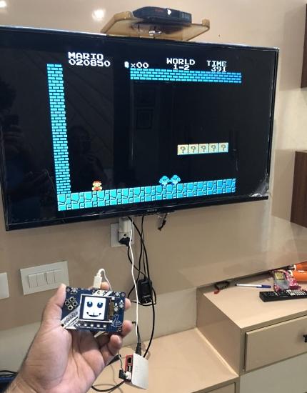 RetroPie with a PyBadge Game Controller