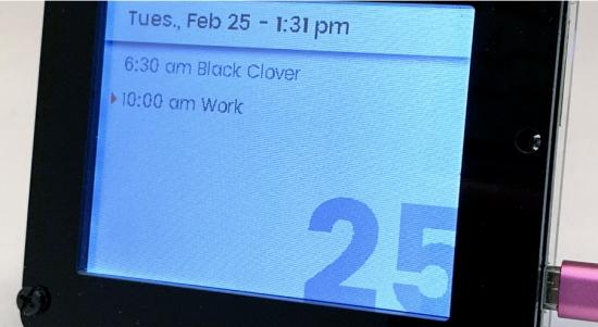 PyPortal Google Calendar Viewer