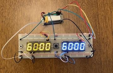 CircuitPython Chess Clock
