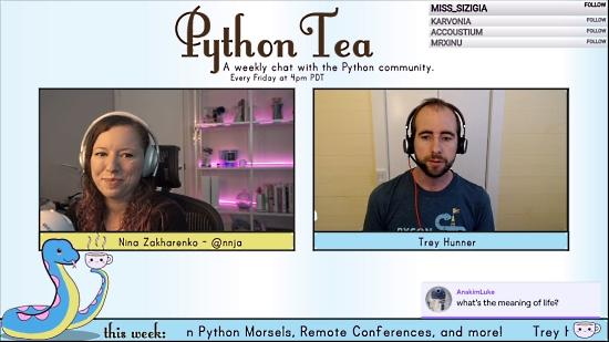 Weekly Python Tea