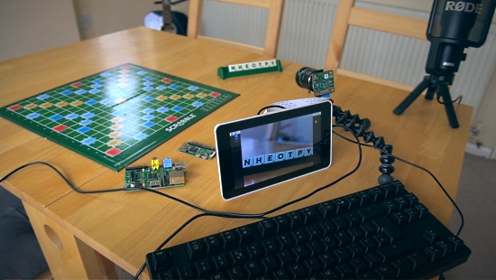 Scrabble With Raspberry Pi