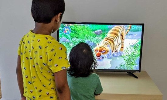 Kid's Eye Safe Smart TV