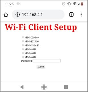 ESP32 WiFi Manager