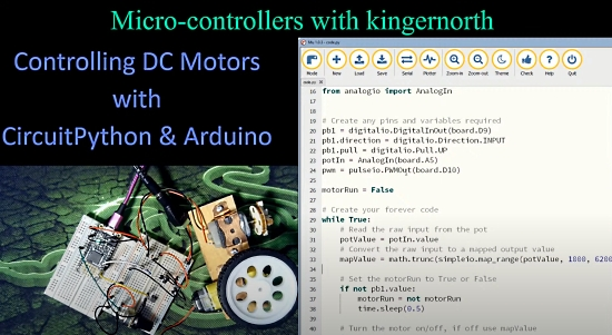 Controlling DC Motors