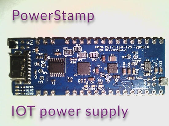 PowerStamp Board