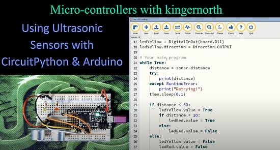 Using Ultrasonic Sensors
