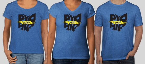 PyOhio 2020 T-Shirts Fundraiser