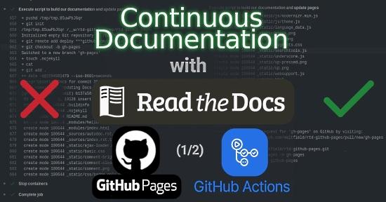 Continuous Documentation