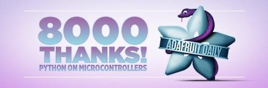 Eight Thousand Thanks
