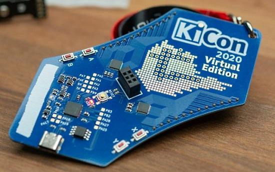 KiCad 2020 Virtual Edition Badge