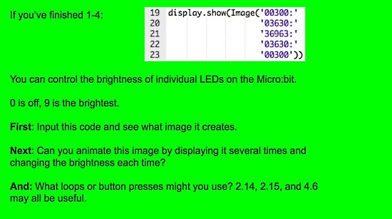 CodeSpace on micro:bit