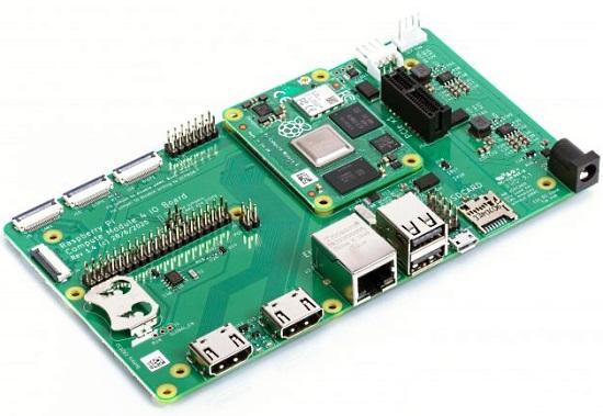 Raspberry Pi 4 CM IO Board
