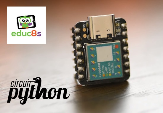 CircuitPython on the Seeeduino Xiao