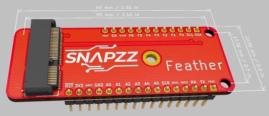 Snapzz to Feather Adapter