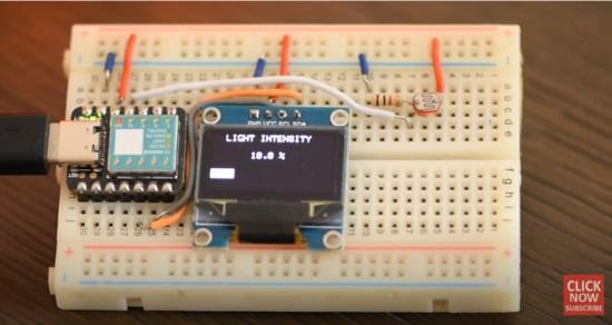 CircuitPython Light Meter