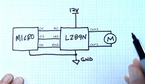 CircuitPython DC Motor Control