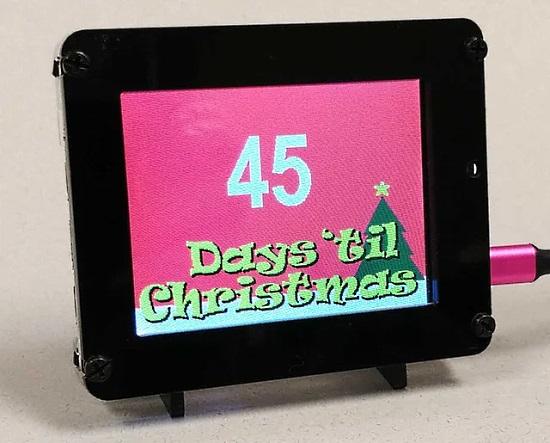 PyPortal Christmas Countdown