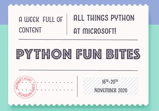 Staying connected with the Python Community